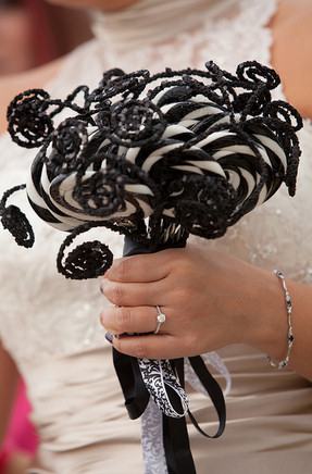 Halloween Lollipop Bridal Bouquet