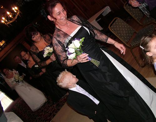 Halloween Wedding Bridesmaids Dresses