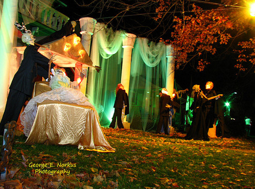 Halloween Wedding Decoration