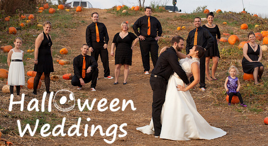Halloween Theme Wedding Knot For Life