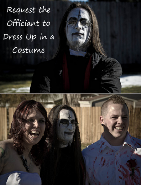 Halloween Wedding Officiant