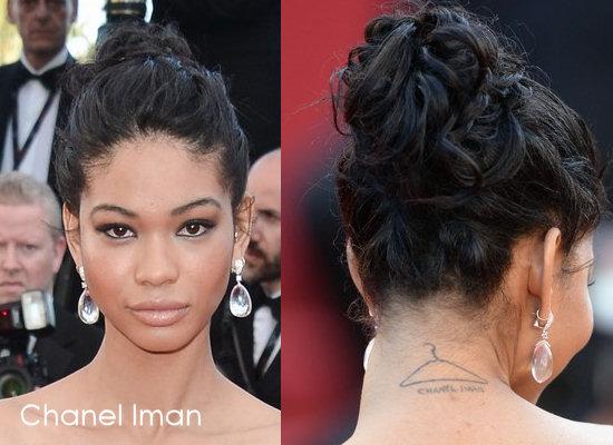 A Lovely Messy, Loopy Bun Wedding Hairstyle for Black Hair for medium length hair