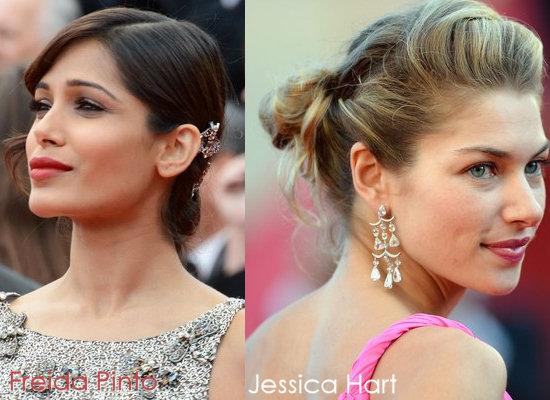 Chic, Low Buns Wedding Hair dos for medium length hair