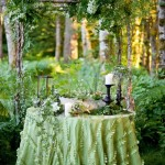 A Whimsical and Outdoorsy Woodland Wedding