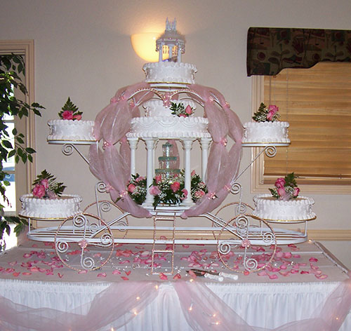 Cakes As Centerpieces Wedding