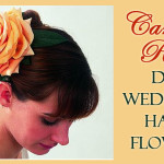 DIY Wedding Hair Flower – Carmen Rose