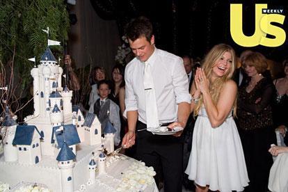 Fergie's Princess Wedding Cake - Cinderella Wedding Cake Ideas
