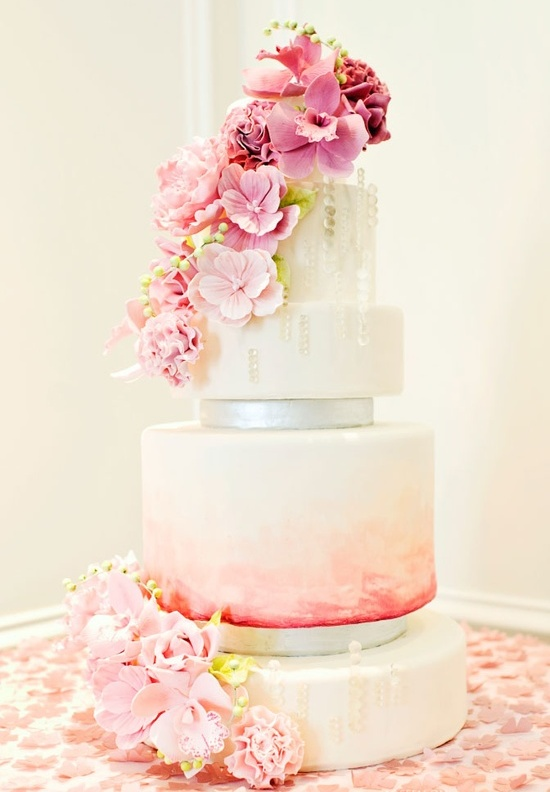 Pastel Wedding Cake Ideas The Best Inspirations Knot For Life - Pastel Pink Wedding Cake