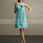 Light Blue Bridesmaid Dresses Under 100 for Summer Weddings