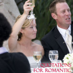 Quotations for Romantic Wedding Toasts