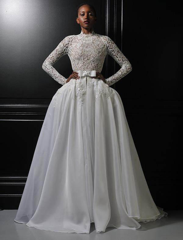 Leutellier Tesson Couture 'Anastasia' wedding dress