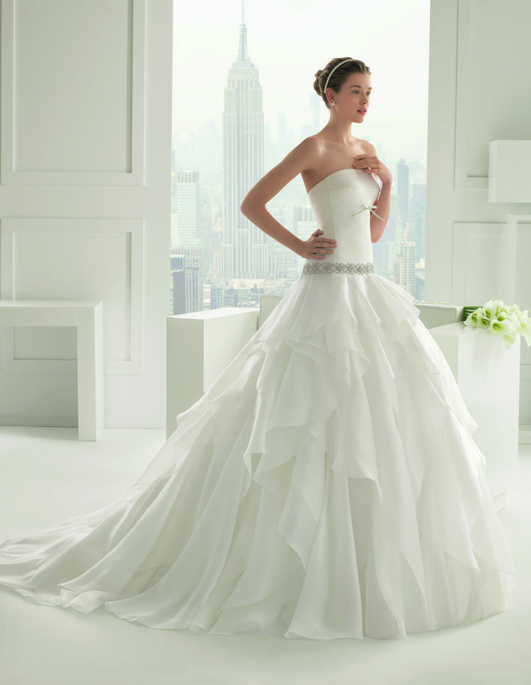Princess Wedding Dresses - Rosa Clara Shelly Wedding Dress
