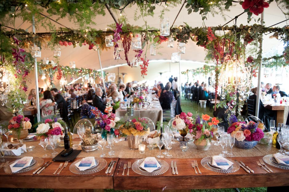 Gorgeous Wedding Tent Decoration Ideas - Knot For Life