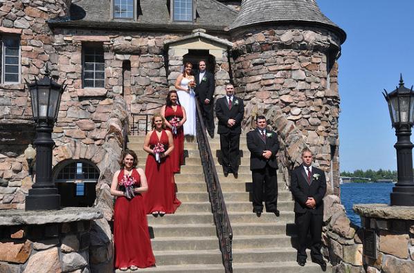 Europe castle wedding
