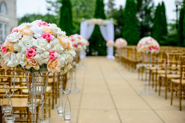 elegant wedding venue on a budget
