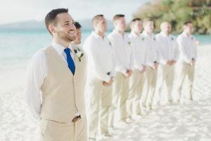 Groom's suit for Beach Wedding