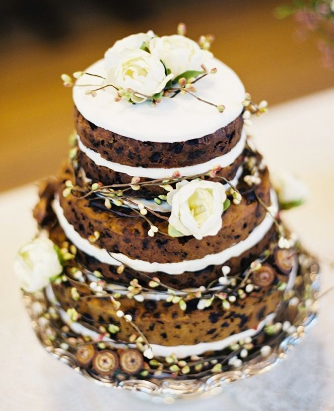 Traditional Fruitcake Wedding cake
