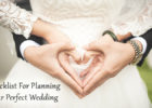 Checklist For Planning Your Perfect Wedding