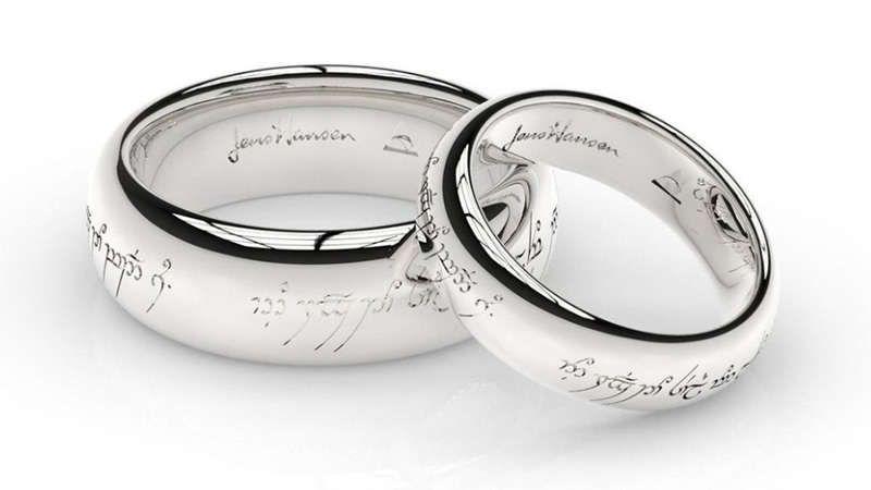 Bespoke Wedding Ring Guide With Engraving Ideas Knot For